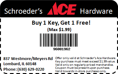 Buy 1 Key, Get 1 Free Coupon