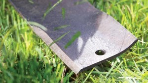 Sharpened Mower Blade